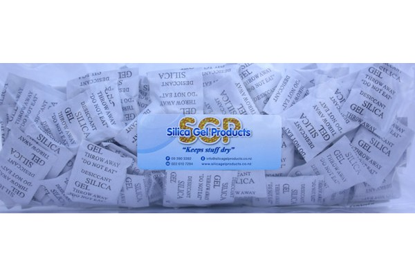 Silica Gel 2 Gram Composite 100 Pack