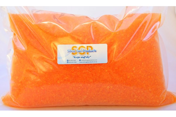 Silica Gel 5Kg Indicating (bulk pack)