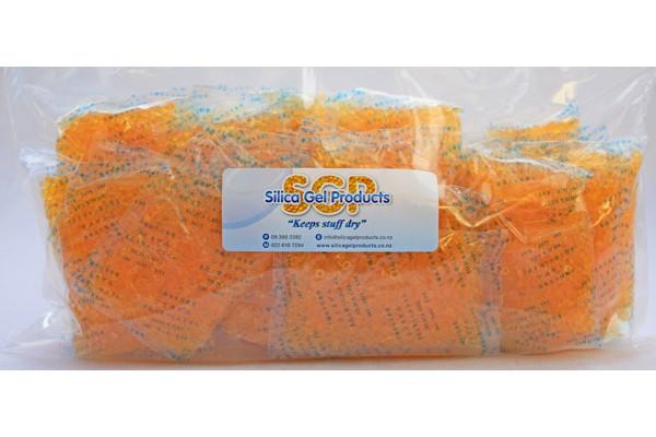 Silica Gel 25 Gram Indicating 30 Pack