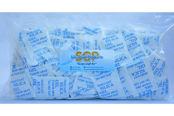 Silica Gel 5 Gram 100 Pack